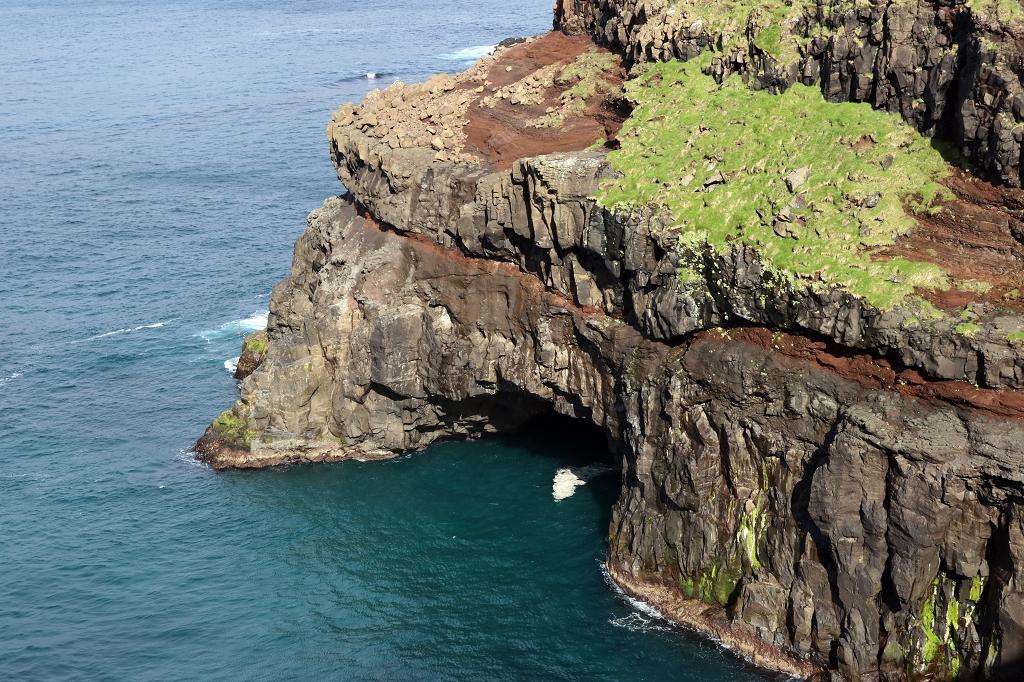 Steilküste in Gásadalur