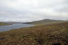 Wanderung zum Bøsdalafossur und Blick auf den Leitisvatn / Sørvágsvatn