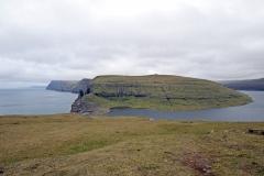 Blick vom Kliff Trælanípa