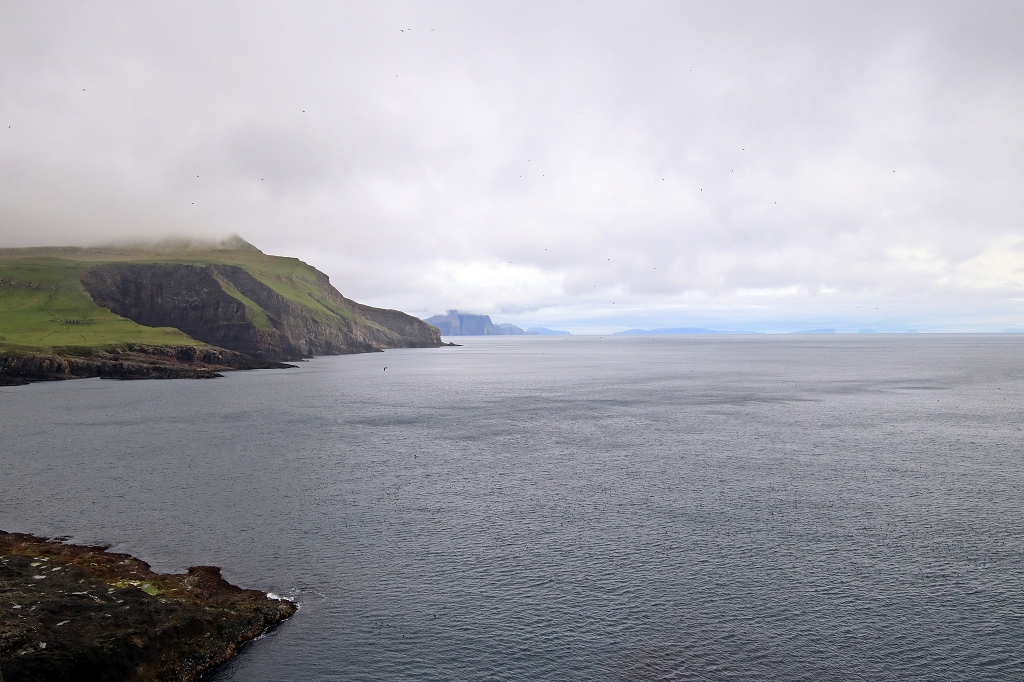 Ausblick von Mykineshólmur, Färöer