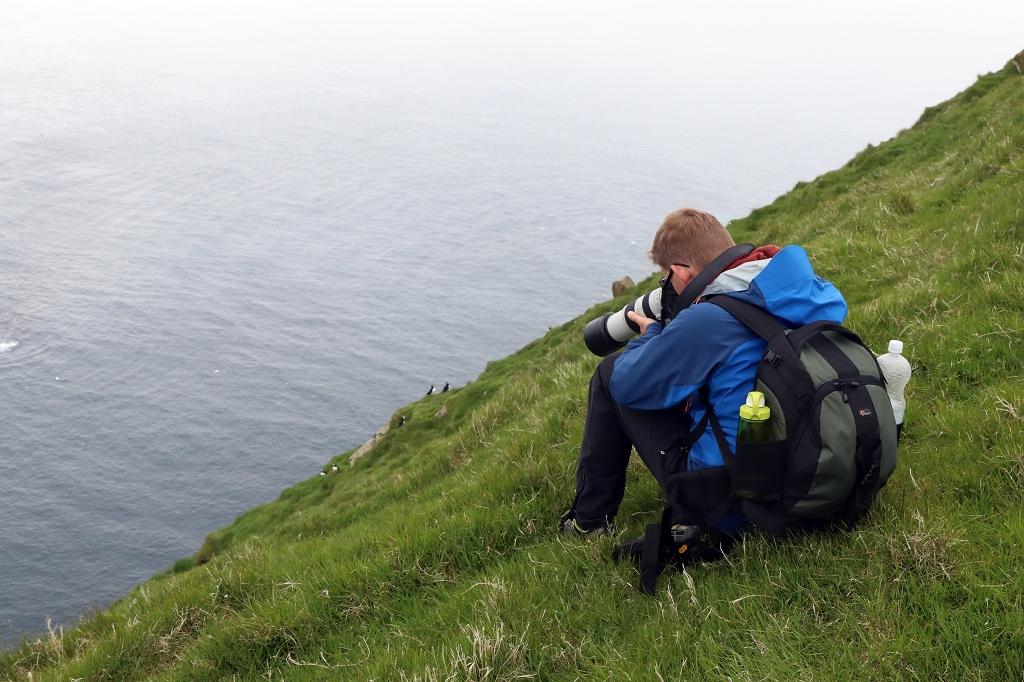 Vogelbeobachtung auf Mykineshólmur