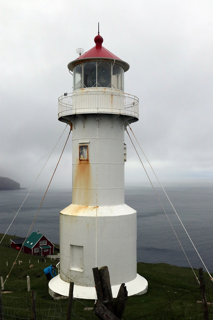 Leuchtturm auf Mykineshólmur