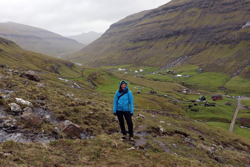 Wanderweg von Saksun nach Tjørnuvík