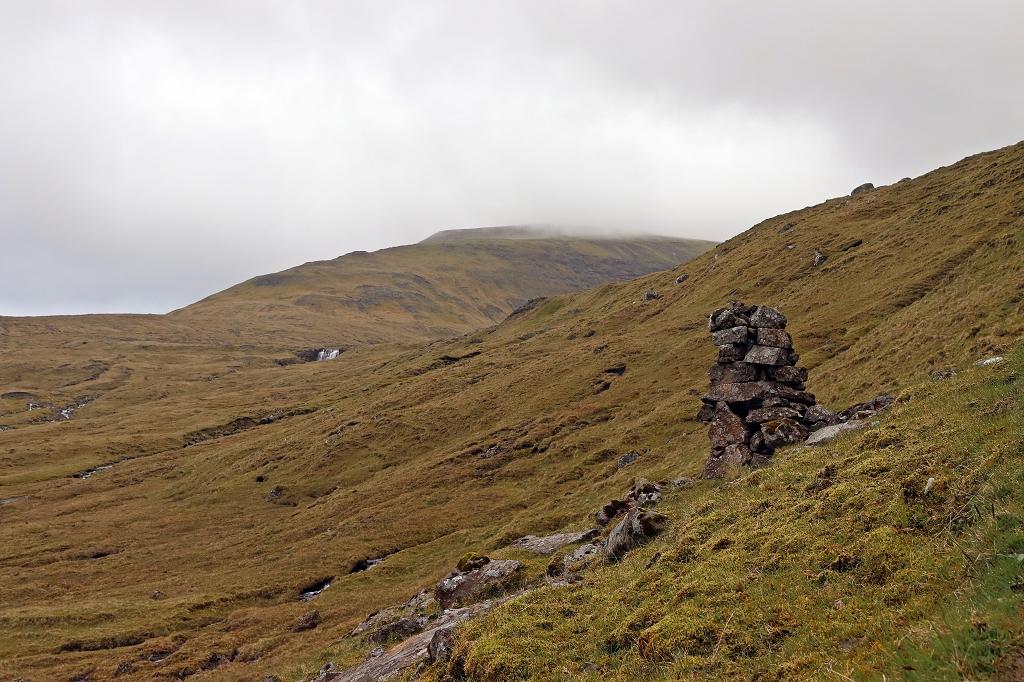 Mystische Landschaft auf dem Wanderweg von Saksun nach Tjørnuvík