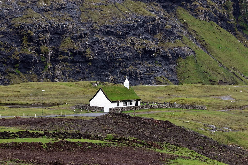 Kirche in Saksun