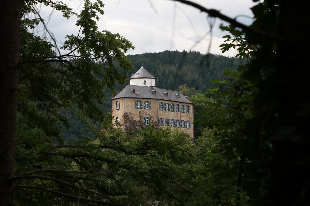 Abenteuerwanderung in Altenahr im Ahrtal - Burg Kreuzberg