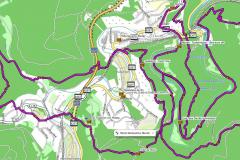 GPS-Track Gratwanderung Engelsley und Wanderung durch das Ahrtal