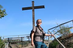 Aufstieg zum Teufelsloch in Altenahr - Am Schwarzen Kreuz