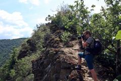 Abenteuerwanderung in Altenahr im Ahrtal  - Aufstieg zur Teufelsley