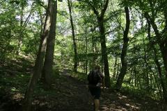 Aufstieg zur Gratwanderung über die Engelsley