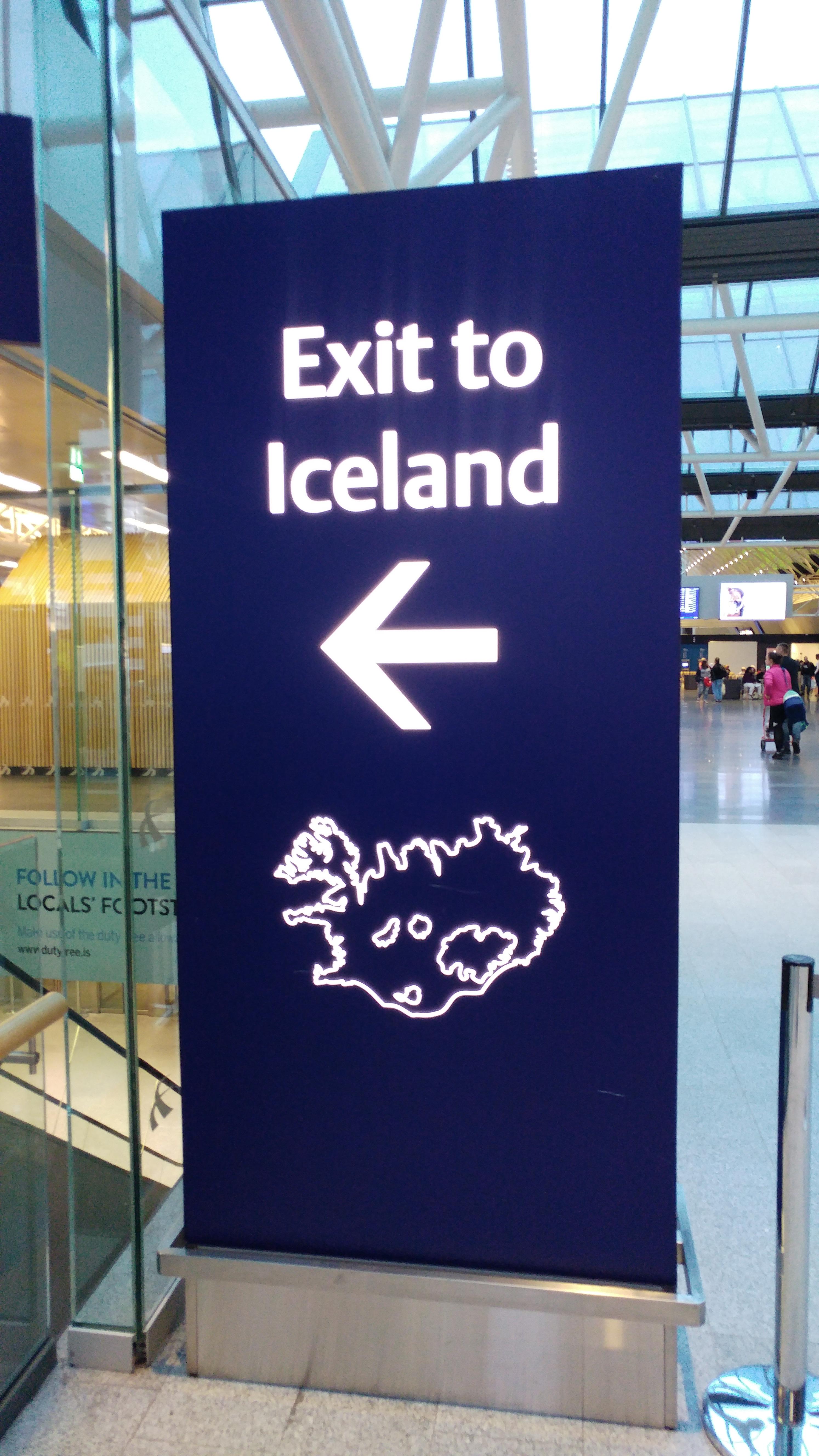 Ankunft auf Island