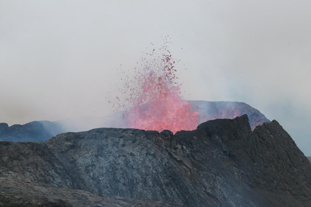 Eruption am Fagradalsfjall