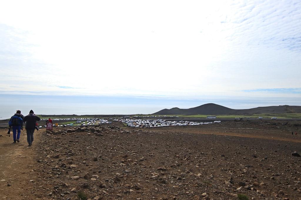 Rückweg vom Nátthagi Tal zum Parkplatz