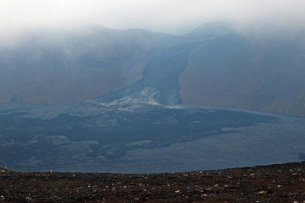 Blick in das Nátthagi Tal am Fagradalsfjall