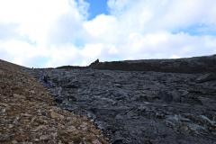 Weg zurück zum Stori-Huttor