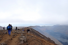 Auf dem Gipfel des Langihryggur