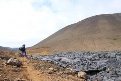 Erkaltender Lavastrom im Nátthagi Tal