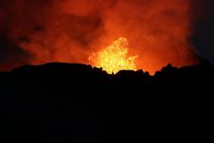 Vulkanausbruch am Fagradalsfjall