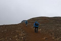 Aufstieg zum Langi