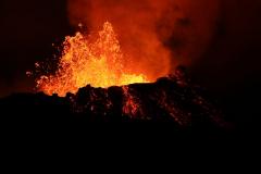 Eruptionen am Fagradalsfjall