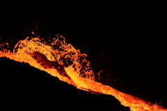 Lavastrom im Meradalir-Tal am Fagradalsfjall
