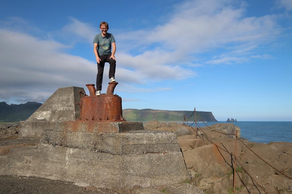 Aussichtspunkt am Kap Dyrhólaey