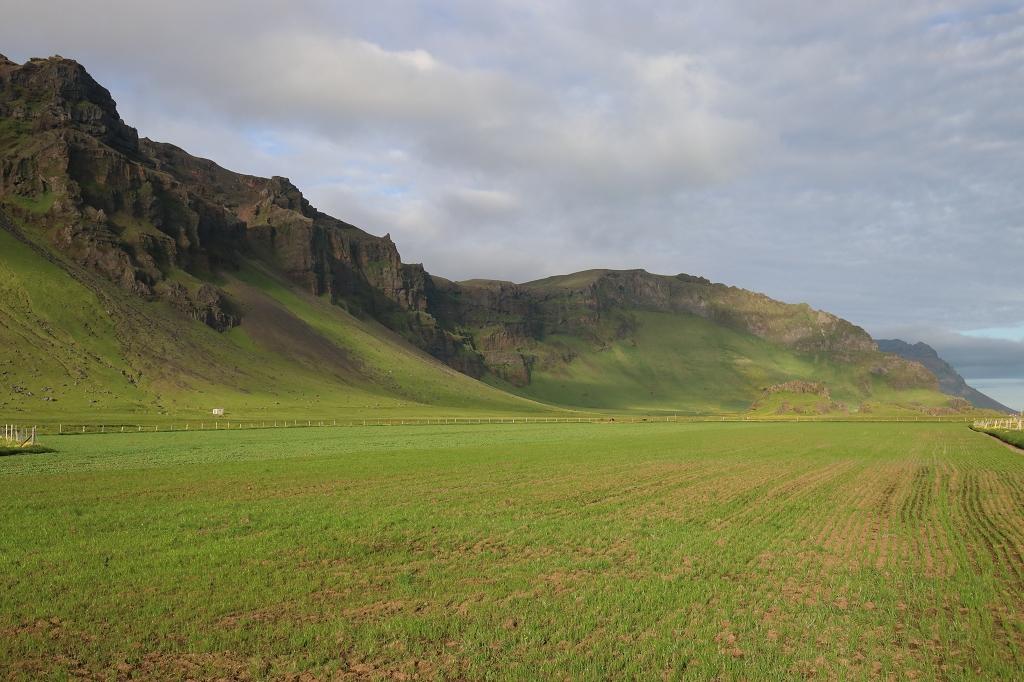 Aussichtspunkt an der Ringstraße auf Island