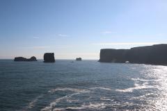 Aussichtspunkt am Kap Dyrhólaey mit Blick auf die Klippen