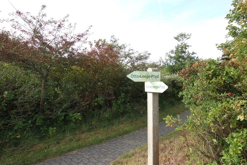 Auf dem Otto-Leege-Pfad zum Ostende Juists