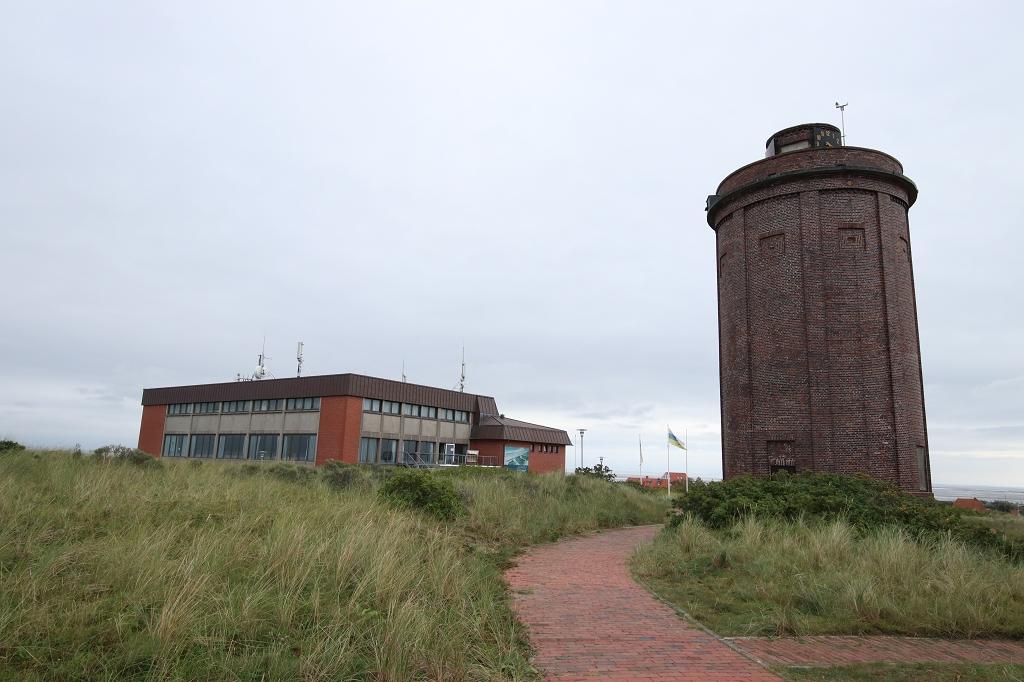 Kurhaus und Wasserturm auf Juist