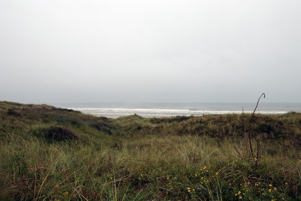 Fahrradtour in den Westen der Insel Juist - Blick aufs Meer