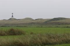 Fahrradtour in den Westen der Insel Juist - Landbake im Westen