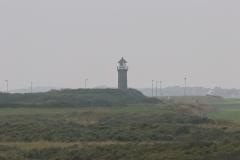 Fahrradtour in den Westen der Insel Juist - Leuchtturm Memmertfeuer