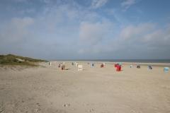 Am Strand von Juist
