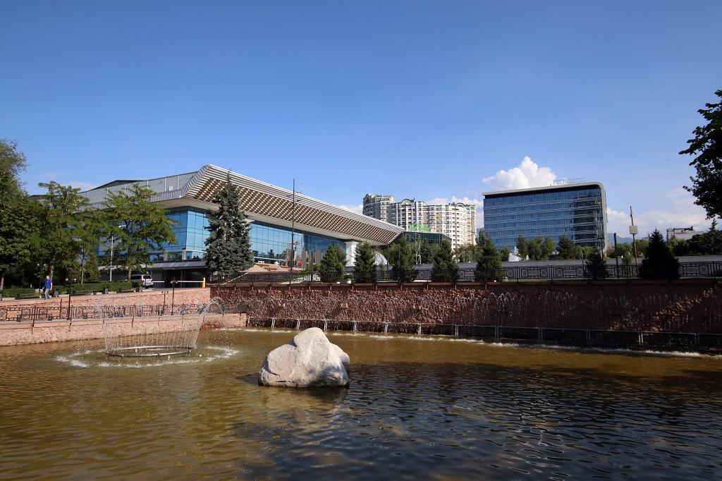 Brunnen am Hotel Kazakhstan
