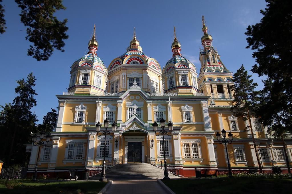 Christi-Himmelfahrt-Kathedrale in Almaty