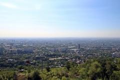 Sicht auf Almaty vom Kök-Töbe
