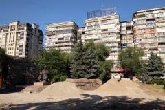 Durch die Straßen Almatys