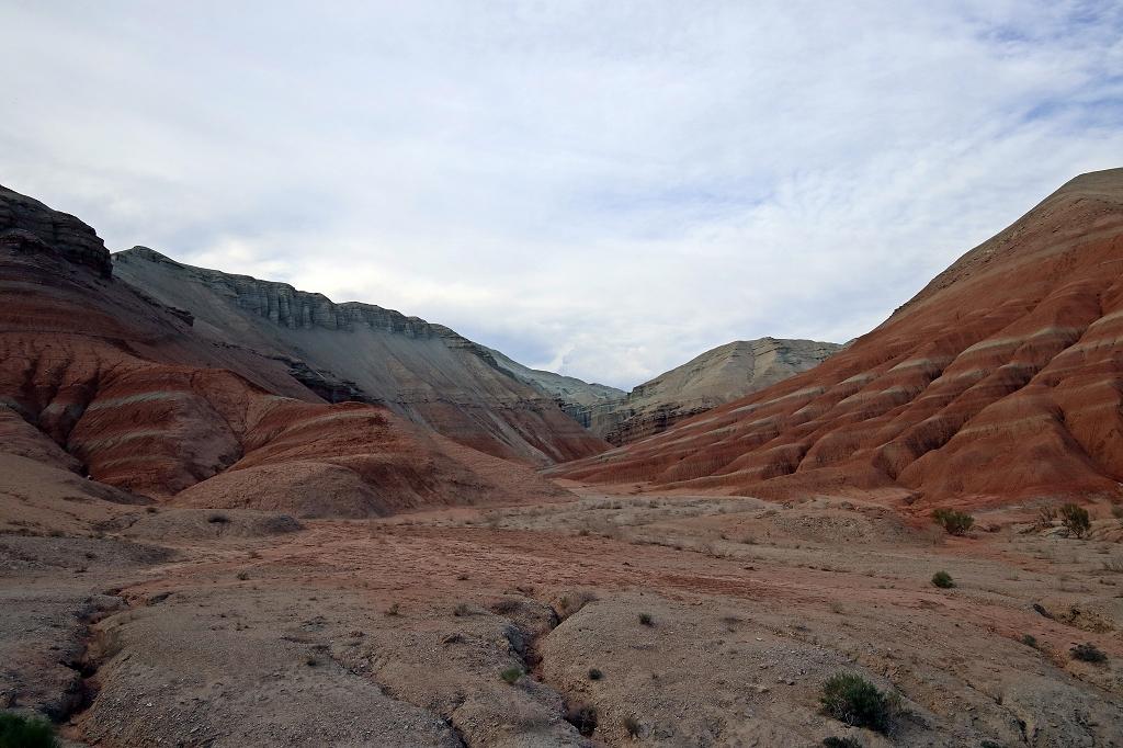Diese Formen und Farben im Altyn-Emel-Nationalpark