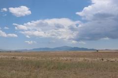 Fahrt durch die unterschiedlichen Landschaftsstriche Kasachstans zum Altyn-Emel-Nationalpark