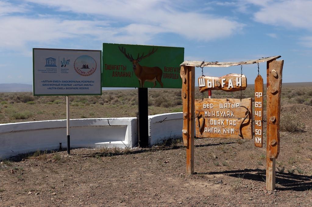 Im Altyn-Emel-Nationalpark