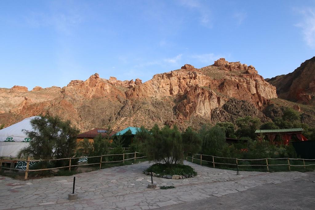 Am Ende des Scharyn-Canyons befindet sich das Ecocamp