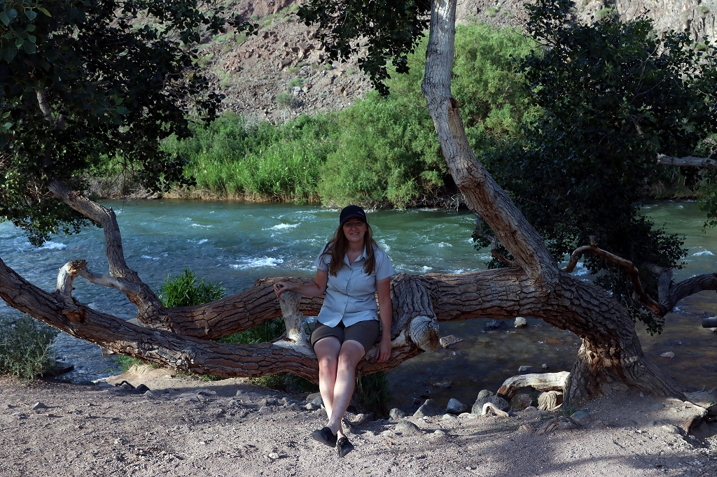Entspannen am Flussufer
