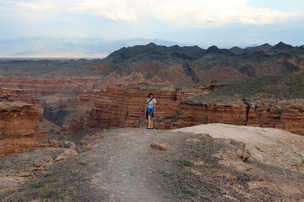 Aussichtspunkt auf den Scharyn-Canyon