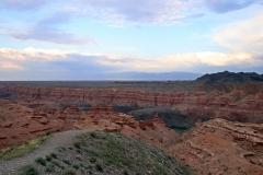 Blick in den Scharyn-Canyon