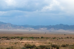 Landschaft im Altyn-Emel-Nationalpark