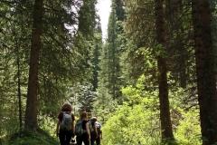 Wanderung zum Mittleren Kolsaisee