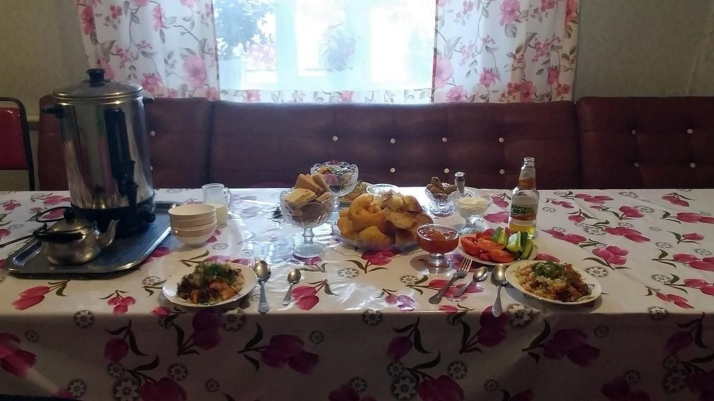 Frühstück im Guesthouse