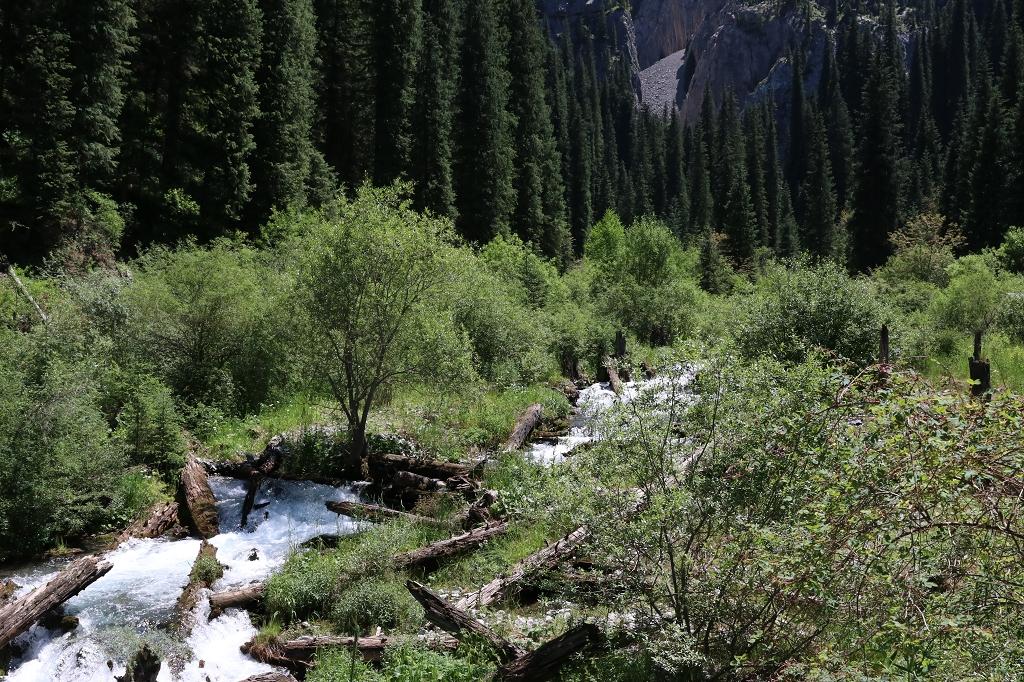 Der Fluss Kaindy