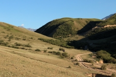 Blick zurück ins Saty Tal